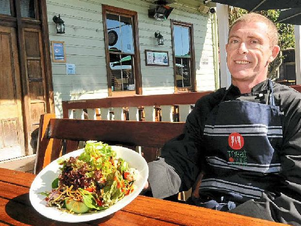 TOP TUCKER: Tony Riordan, head chef at the Federal Hotel in Alstonville, which has been nominated as serving the most popular pub grub in the region.