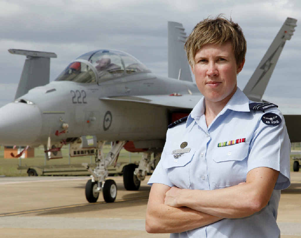 Squadron Leader Amanda Gosling is a 12-year veteran of the air force and works as an aerospace engineer – aeronautical, and has also taken on the role of Specialist Recruitment Officer for Women.