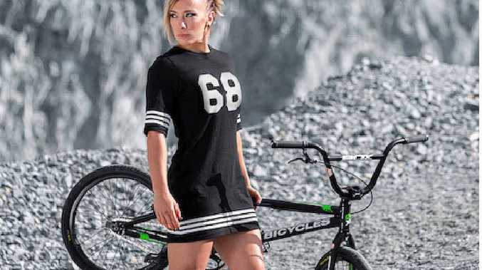 BMX world champion Caroline Buchanan.