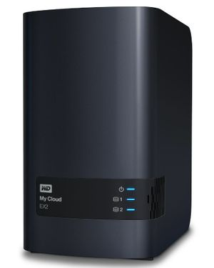 Western Digital's EX2 is the supercharged version of its solid MyCloud box.