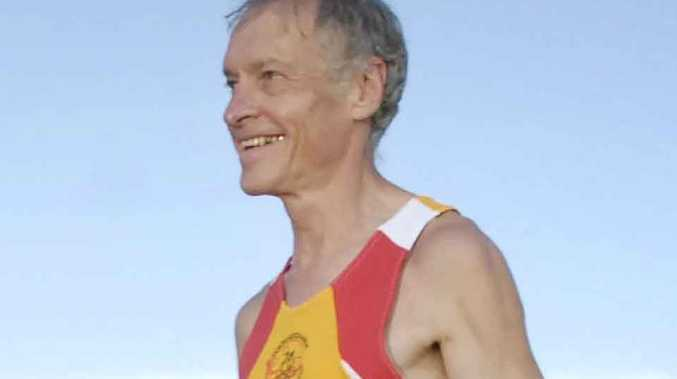 Roger Guard was an active runner and a former president of Toowoomba Road Runners.