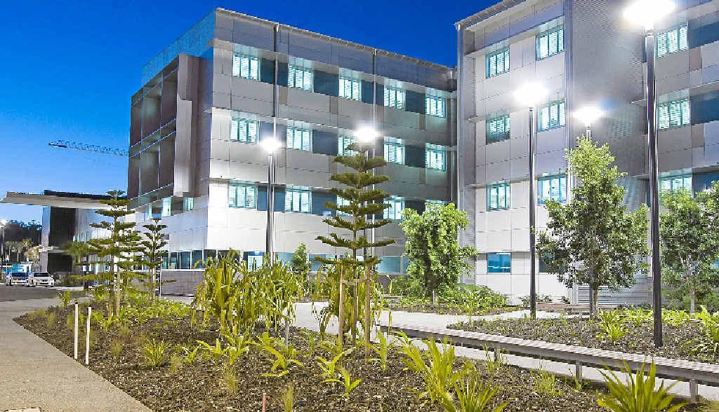 The $100 million Sunshine Coast University Private Hospital was named Sunshine Coast Project of the Year.
