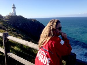 Two rescued, third person still missing off Cape Byron