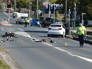 Crash seriously injures scooter rider