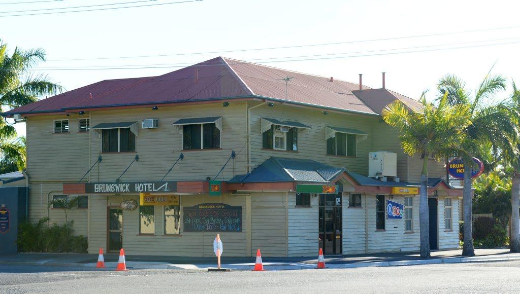 Brunswick Hotel, Rockhampton. Photo: The Morning Bulletin
