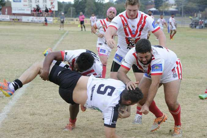 HOME WIN: South Grafton Rebels enjoyed a huge 72-22 win in their final home game of the Group 2 season.