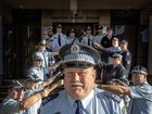 HE IS the copper they all want by their side; a mentor, an inspiration and the reason some joined the force. But 40 years on, Sergeant Harley Willox is hanging up his blues and boots. Story page 6-7. PHOTO: ADAM HOURIGAN