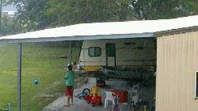 DO YOU HAVE INFO?: Police are investigating the theft of this caravan.