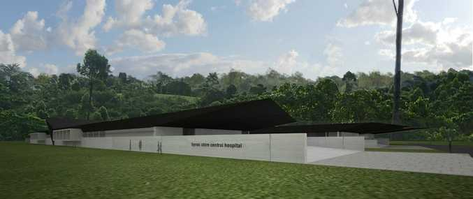 Artist impression, Byron Central Hospital. Photo Contributed