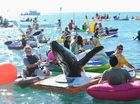 Paddle out for the whales at Scarness Beach - Photo: Alistair Brightman / Fraser Coast Chronicle