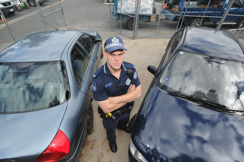 Cnst Pete Smith from Hervey Bay police.