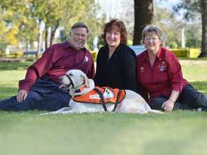 Dogs like Yarni can save lives