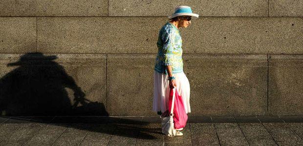 An example of Lisa Kurtz' street photography.