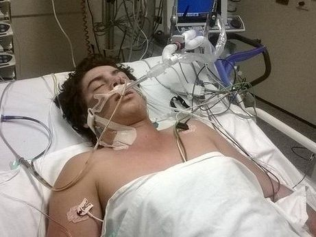 Tarryn Bowers is in a coma after having a cardiac arrest during a club game. Photo: The Bowers family