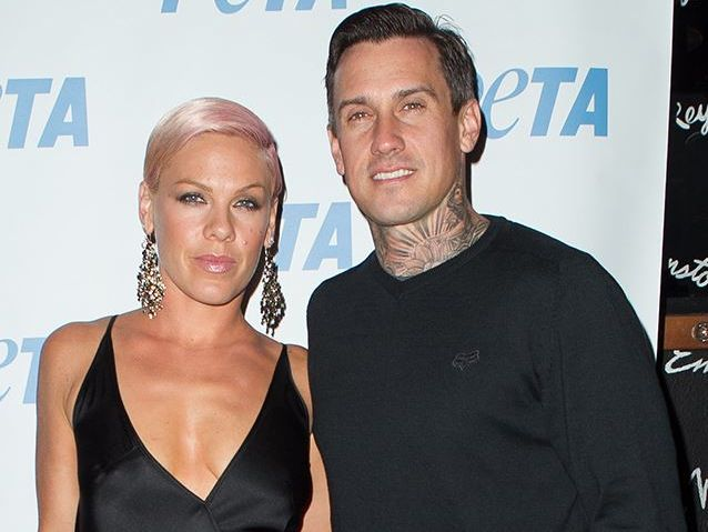 Pink threw her husband Carey Hart a bicycle bar crawl around Los Angeles to celebrate his 39th birthday.