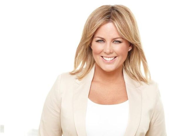 OVER IT: Sunrise presenter Samantha Armytage raises eyebrows.