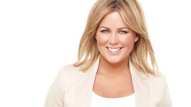OVER IT: Sunrise presenter Samantha Armytage raises eyebrows.