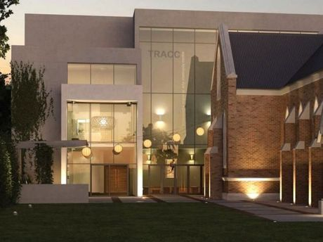 The Empire Theatre's new Toowoomba Regional Arts and Community Centre (TRACC) takes shape ahead of its opening performance on August 6.