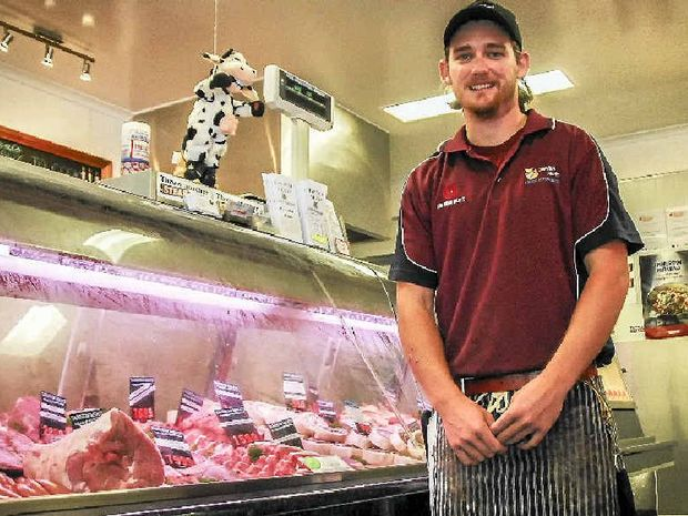 Tannum Meats manager Nathan Lynn says cattle prices haven't greatly affected the cost of beef cuts, and it remains the most popular meat.