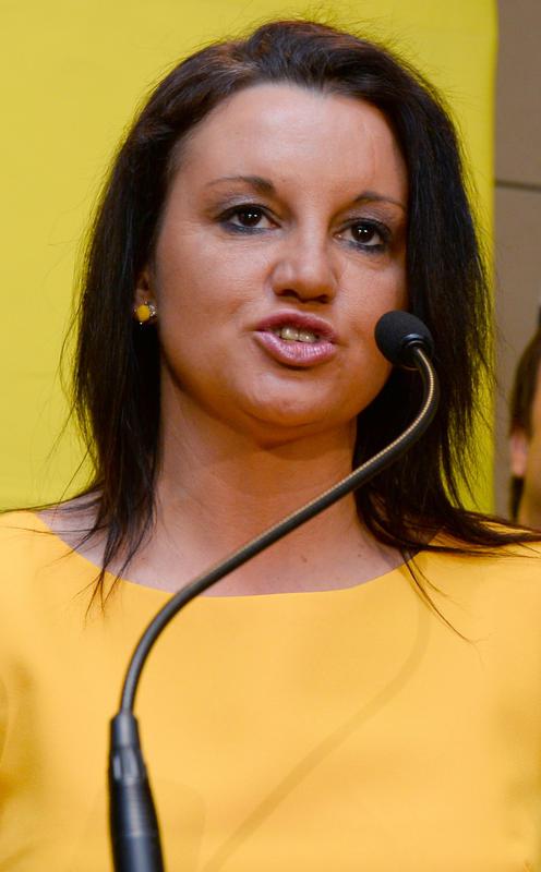 Australian Senator Jacqui Lambie of the Palmer United Party (PUP)