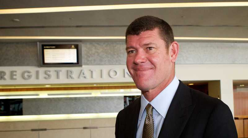 A Tuesday, Oct. 30, 2012 file photo of Crown Chairman, James Packer at the Crown AGM in Perth. Mr Packer has been named in the 2014 Australian BRW Rich 200 list.