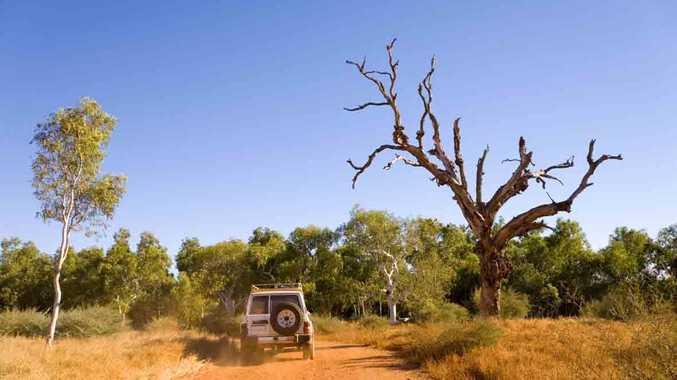 See the bare bones of Australia