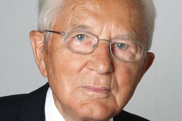 Aldi  co-founder Karl Albrecht.