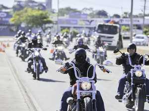Harley fundraising ride