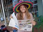 O-Week at the University of the Sunshine Coast: Incoming USC Scoop editor, Frankie McMackin. Photo: Brett Wortman / Sunshine Coast Daily