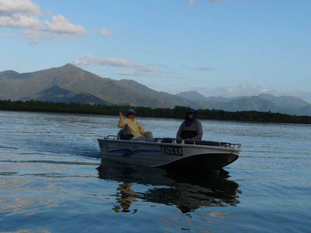 TRIBUTE: Wayne and Theresa Baker in the Hinchinbrook Channel, Lucinda Photo: contributed