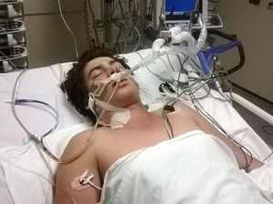 Family rejoices as son wakes from three-day coma