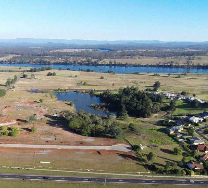 ANOTHER STAGE: Stage two of Lake View Heights estate is expected to be complete in about five weeks.