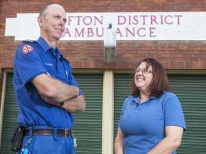 Thumbs up to Grafton's awesome paramedics