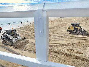 Torquay Beach Sand Push