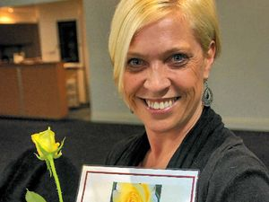 New Zonta member receives the 'thumbs up'