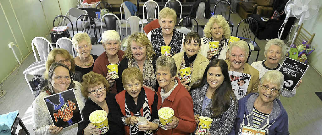 LIGHTS, CAMERA, ACTION: Gladstone Musical Society Inc will be singing songs from the movies at the Senior Citizens Centre on Friday.
