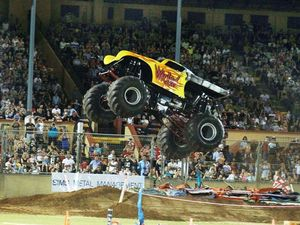 Monster trucks return to Coffs