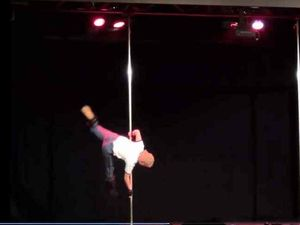 Video: Napolean Dynamite pole dancing routine