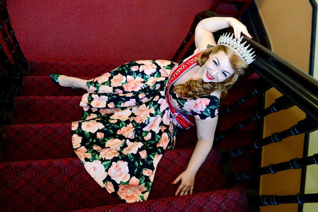 Former Rockhampton girl Alyssa Kitt won the Miss Burlesque Queensland competition on the weekend. Photo Sharyn O'Neill / The Morning Bulletin