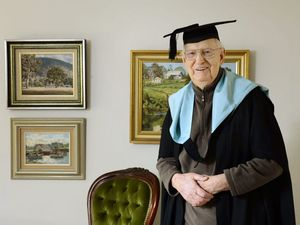 Love of learning doesn't stop for oldest graduate