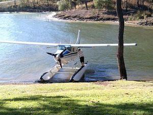 I wasn't taking a leak, dam pilot says