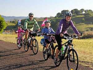Kiwis come over for big bike ride