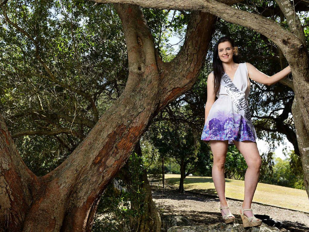 GREAT EFFORT: Ipswich resident Jessica Laughton Smith has made it through to the finals of the Miss World Australia.