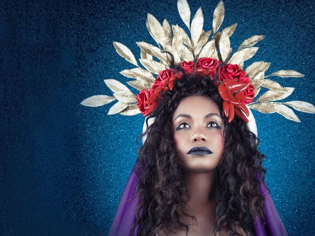 ON THE UP: Ngaiire came to Lismore as a 16-year-old from Papua New Guinea, before moving to Sydney to develop her music career.