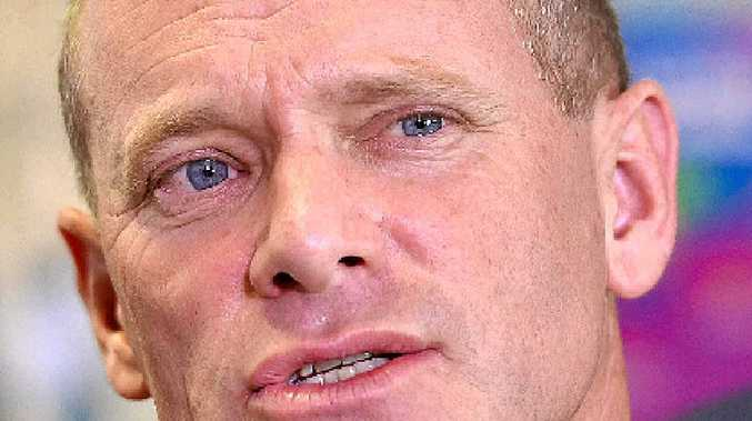BACKFLIP: Campbell Newman is accused of wanting to give the appearance his government is listening.