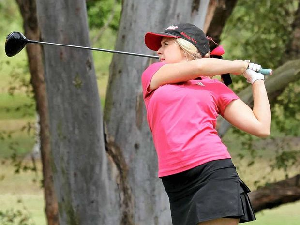 LOOKING TO THE FUTURE: Beerwah ace Hollie Sinclair is free of injury and back in the mood to play and practice again.