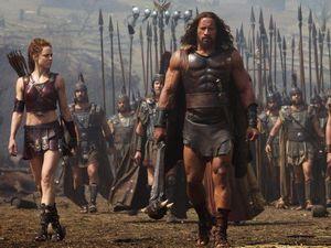 Dwayne Johnson eats up new Hercules movie role