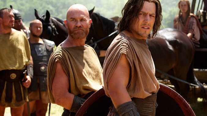 Stephen Peacocke, right, in a scene from Hercules.