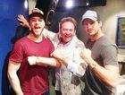 Hamish Blake, Richard Vanhoff and Andy Lee. photo supplied