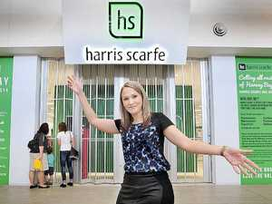 Countdown on to Harris Scarfe opening